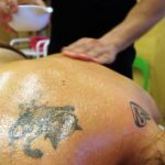 Słuchacze Studium Pracowników Medycznych i Społecznych w Kościerzynie odbyli szkolenie w zakresie masażu kamieniami