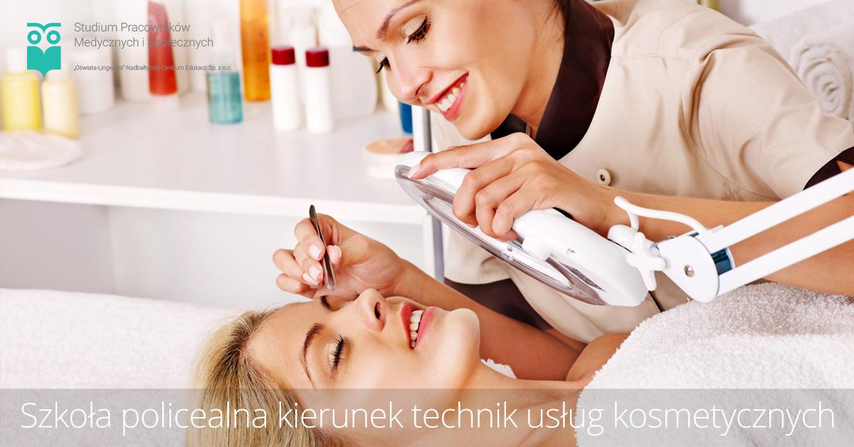 Szkoła policealna kierunek technik usług kosmetycznych
