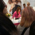 Uczniowie kierunku technik usług kosmetycznych na Targach Beauty Forum & Spa