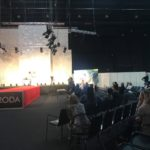 Słuchaczki kierunku Technik usług kosmetycznych w Kościerzynie na Targach Kosmetyczno - Fryzjerskich URODA