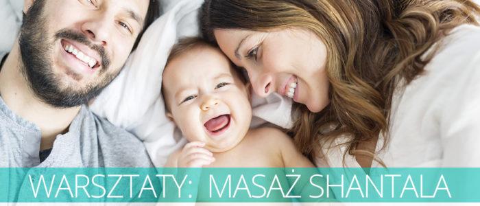 warsztaty dla rodziców z masażu Shantala