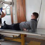 Technik elektroradiolog w Łodzi w szkolnej pracowni rentgenografii