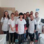 Higienistki stomatologiczne w Olsztynie na zajęciach praktycznych