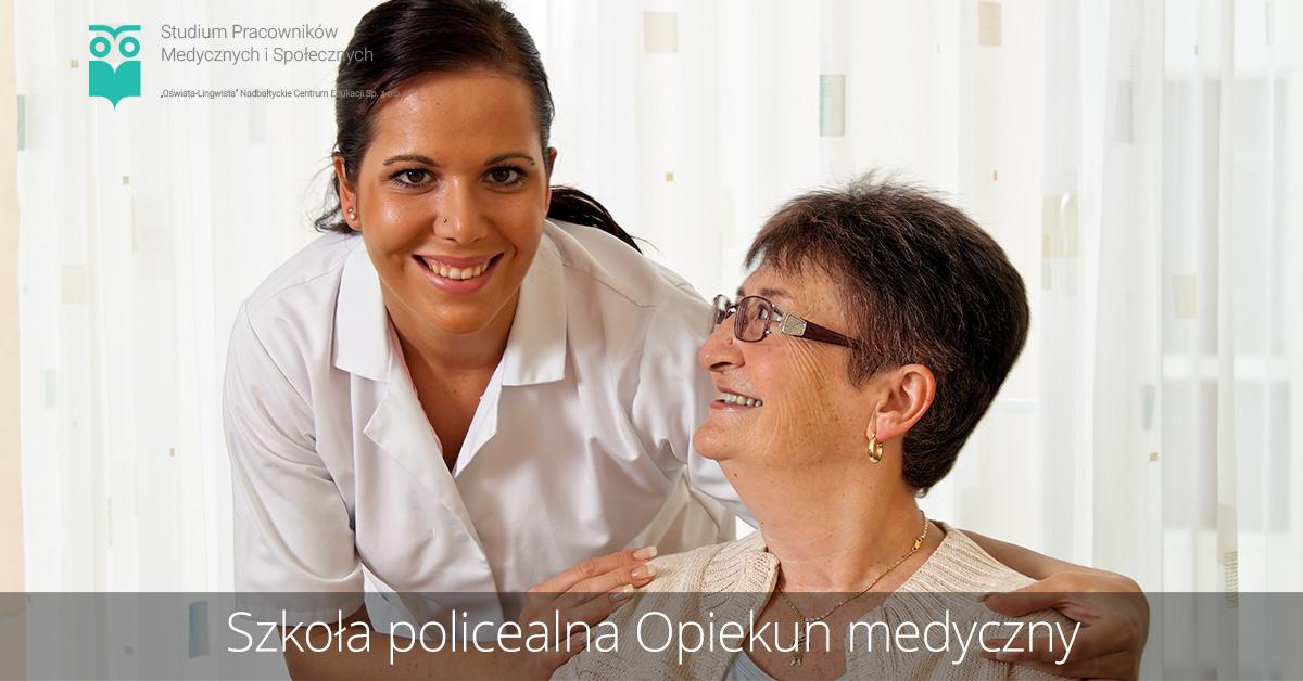 Szkoła policealna kierunek opiekun medyczny