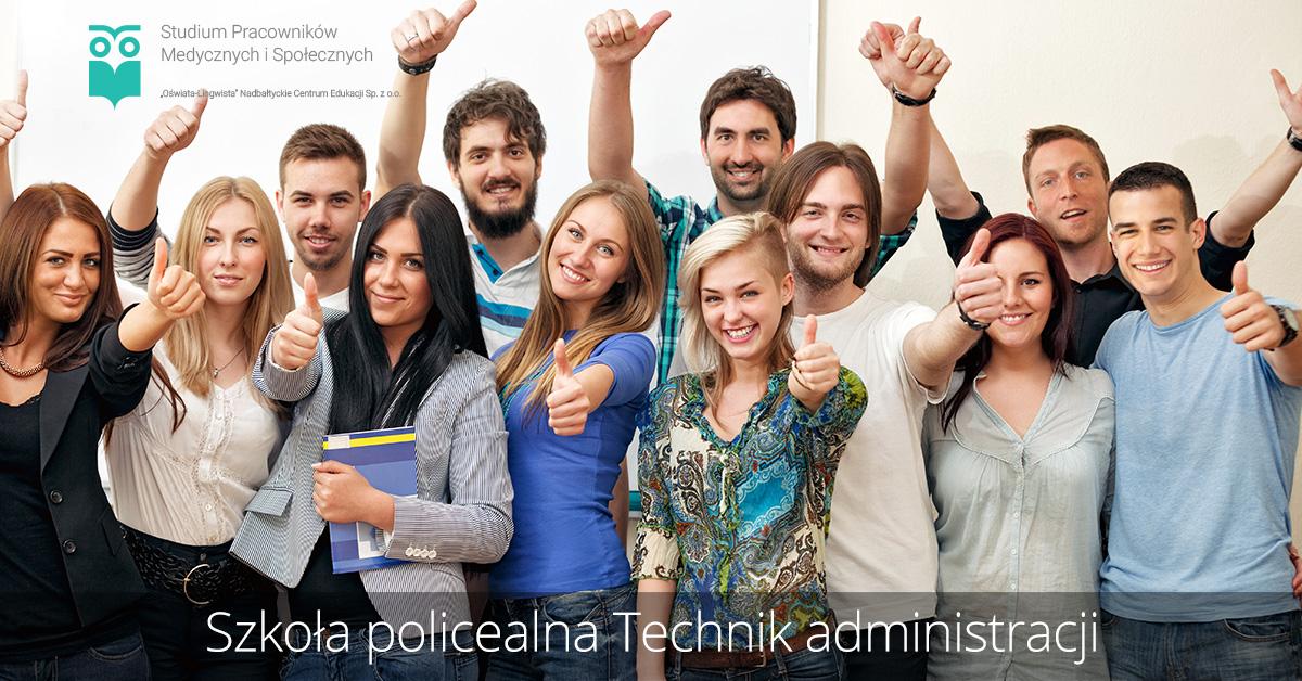 Szkoła policealna kierunek technik administracji