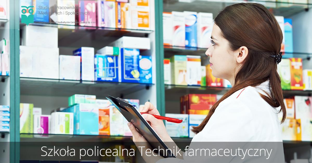 Szkoła policealna kierunek technik farmaceutyczny