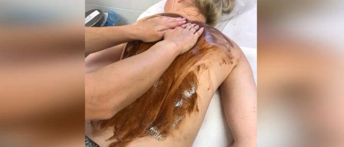SPMiS masaż czekoladą